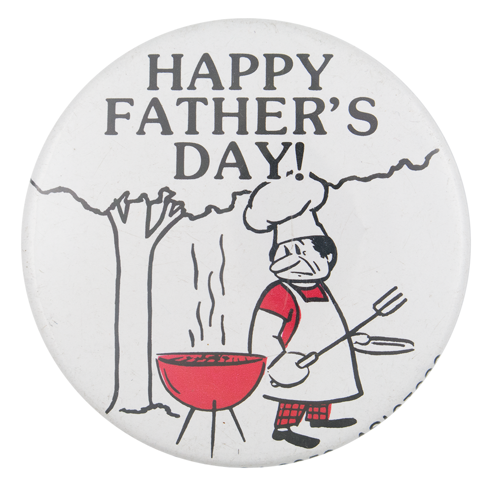 Happy Father's Day Event Button Museum