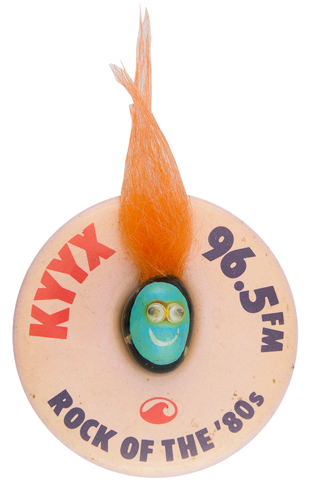 KYYX Rock of the '80s Innovative Button Museum