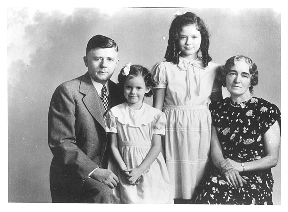 George Haumann with family