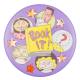 Book It Readers with stickers Cause Button Museum