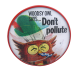 Woodsy Owl button second view Cause Button Museum