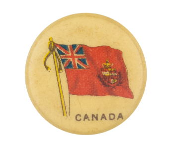 Canada Flag Advertising Button Museum