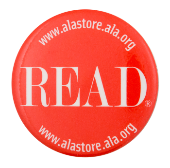 Read ALA Store Advertising Button Museum
