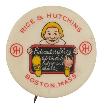 Rice & Hutchins Advertising Button Museum