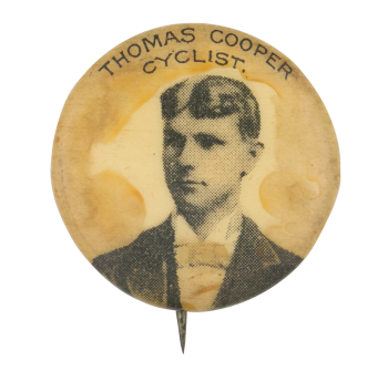 Thomas Cooper Cyclist Art Button Museum