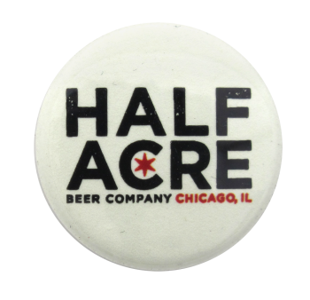 Half Acre Beer Company Beer Button Museum