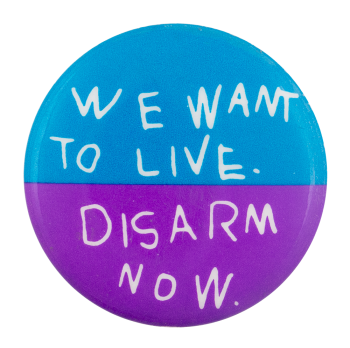 Disarm Now Cause Button Museum