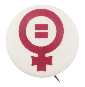 Female Equality Cause Button Museum