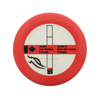 Health and Welfare Canada Cause Button Museum