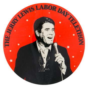 Jerry Lewis Telethon Entertainment Button Museum