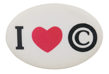 I Heart Copyright I ♥ Buttons, Button Museum
