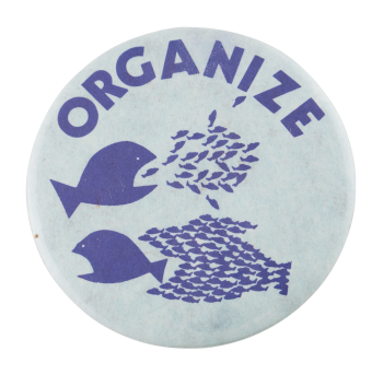 Organize Fish Cause Button Museum