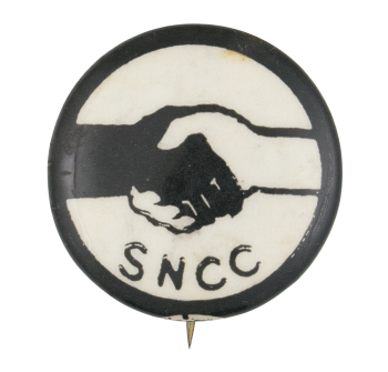 Student Nonviolent Coordinating Committee Cause Button Museum