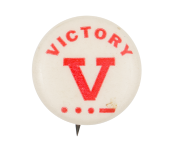 Victory Morse Code Cause Button Museum