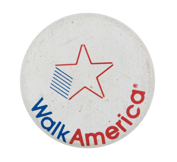 Walk America Cause Button Museum