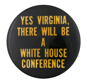 White House Conference on Library and Information Science 1979 Events Button Museum