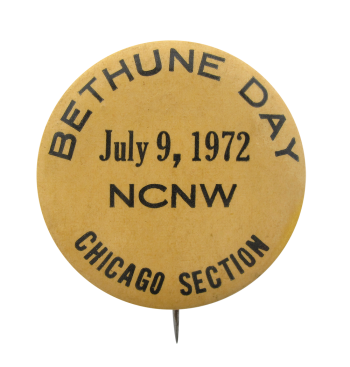 Bethune Day July 9 1972 Chicago Button Museum