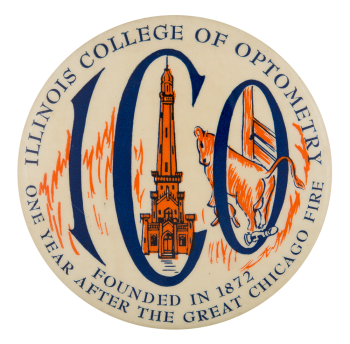 Illinois College of Optometry Chicago Button Museum
