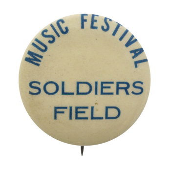 Music Festival Soldiers Field Chicago Button Museum