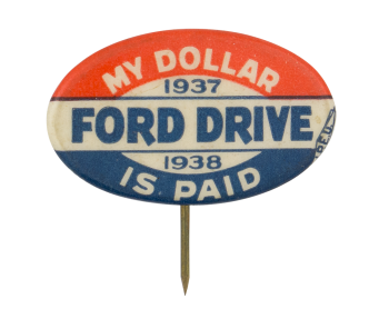 Ford Drive Club Button Museum