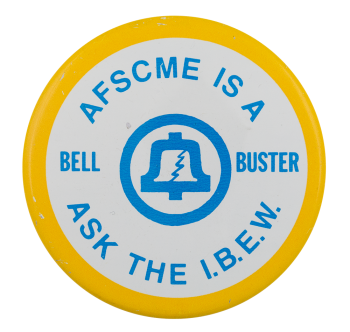 Bell Buster Club Button Museum