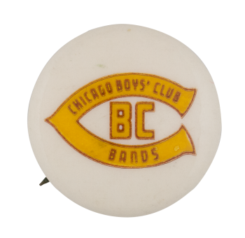 Chicago Boys' Club Bands Club Button Museum