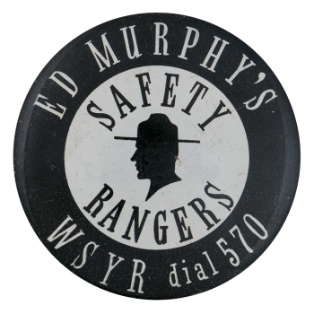 Ed Murphy's Safety Rangers Club Button Museum