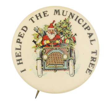 I Helped the Municipal Tree Club Button Museum