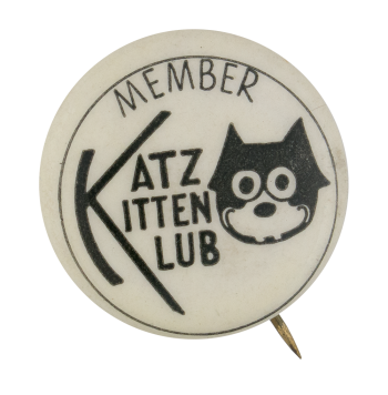 Katz Kitten Klub Club Button Museum