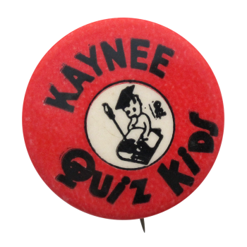 Kaynee Quiz Kids Club Button Museum