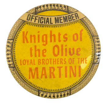 Knights Of The Olive Club Button Museum