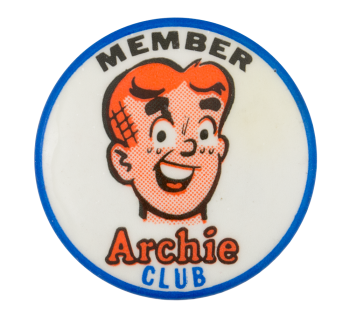 Member Archie Club Club Button Museum
