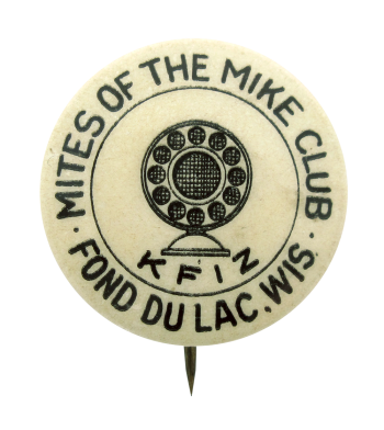 Mites of the Mike Club Club Button Museum