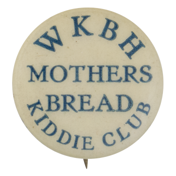 Mothers Bread Kiddie Club Club Button Museum