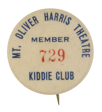 Mt. Oliver Harris Theater Club Button Museum