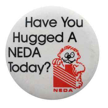 National Eating Disorders Association Club Button Museum