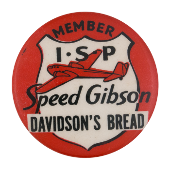 Speed Gibson Club Button Museum