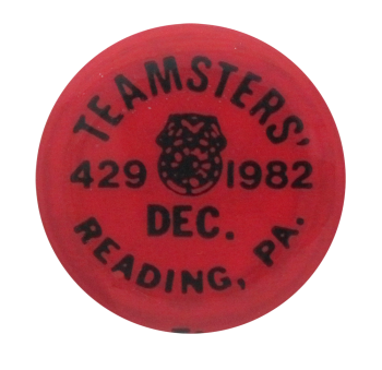 Teamsters 429 1982 Club Button Museum