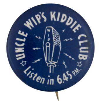 Uncle Wips Kiddie Club Club Button Museum
