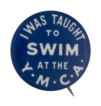 YMCA Swim Club Button Museum