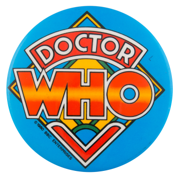 Doctor Who Entertainment Button Museum