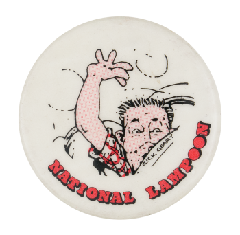 Rick Geary National Lampoon Entertainment Button Museum