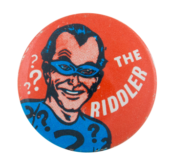 The Riddler Entertainment Button Museum