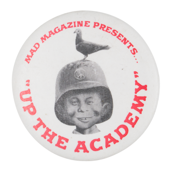Up The Academy Entertainment Button Mueum