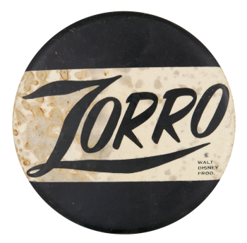 Zorro Entertainment Button Museum