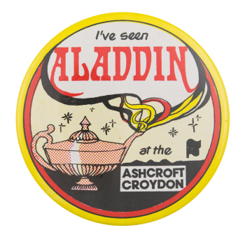 Aladdin at the Ashcroft Event Button Museum