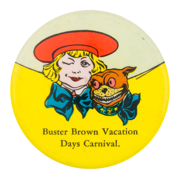 Buster Brown Vacation Days Carnival Innovative Button Museum