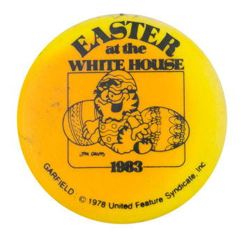 Garfield Easter at the White House Events Button Museum