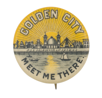 Golden City Event Button Museum