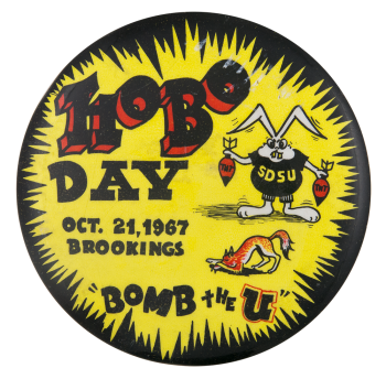 Hobo Day Event Button Museum